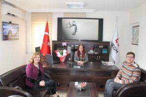 Gün FM'den Burcu'ya ziyaret