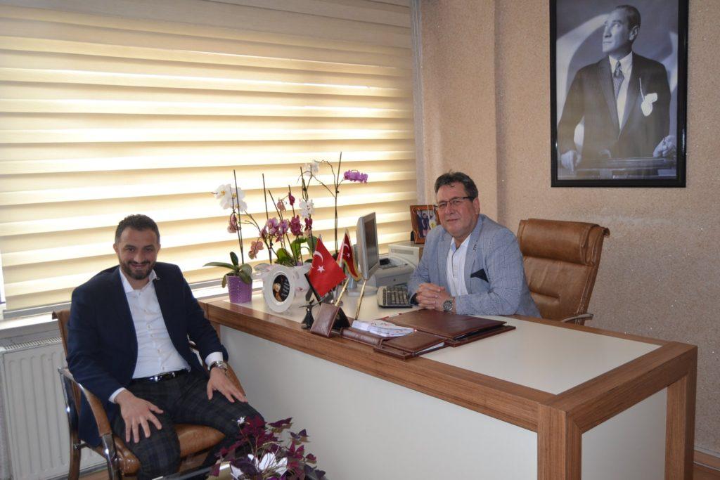 Sayın'dan Gün FM'e ziyaret