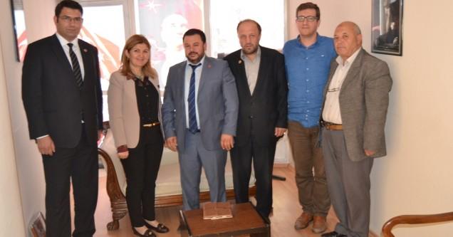 Saadet Partisi heyeti Gün FM'i ziyaret etti