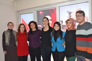 Sağlıklı yaşam merkezi çalışanları Gün FM'de