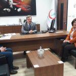 Gün FM yetkililerinden Çağlayan'a ziyaret
