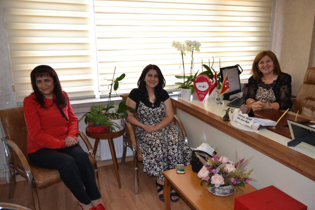 Kavas ve Atacan'dan Gün FM'e ziyaret