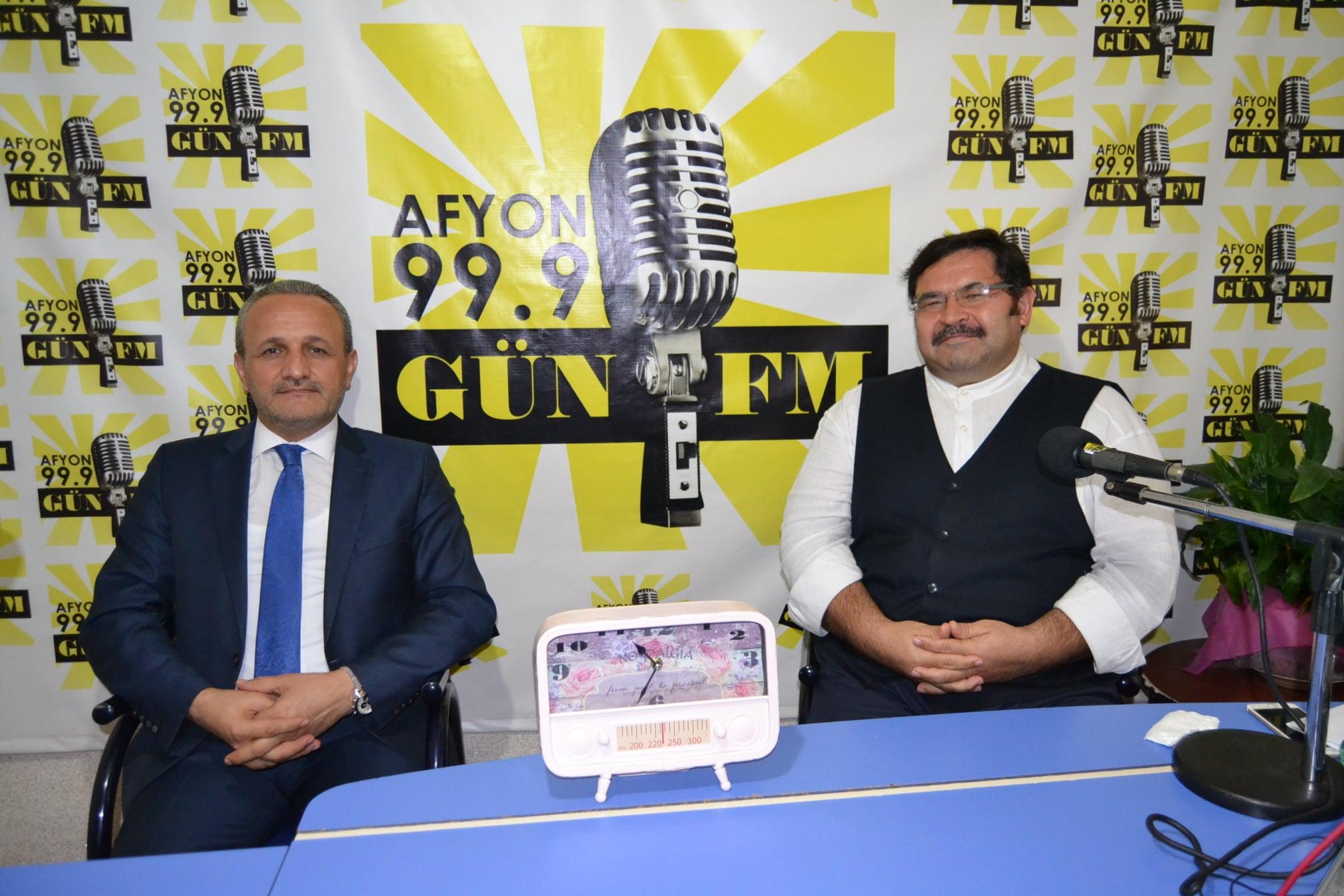 Kazancı Gün FM'in konuğu oldu