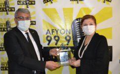 AFAD'dan Gün FM'e Plaket