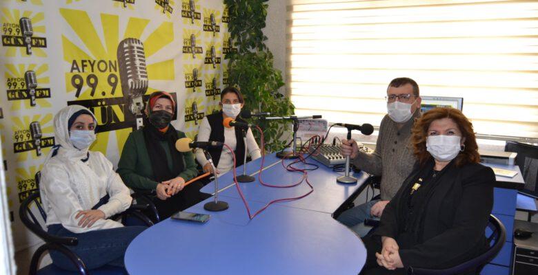 Sultandağı Kadın Kültür Evi'nde üretim başladı