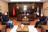 Gün FM'den Rektör Karakaş'a ziyaret