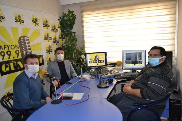 BİLSEM Yöneticileri Gün FM'in konuğu oldular