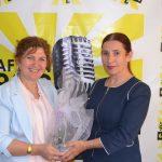 Burcu'dan Gün FM'e 25. yıl ziyareti