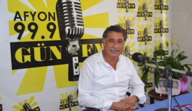 Afyonkarahisar CHP il başkanı Yalçın Görgöz Gün FM'de…