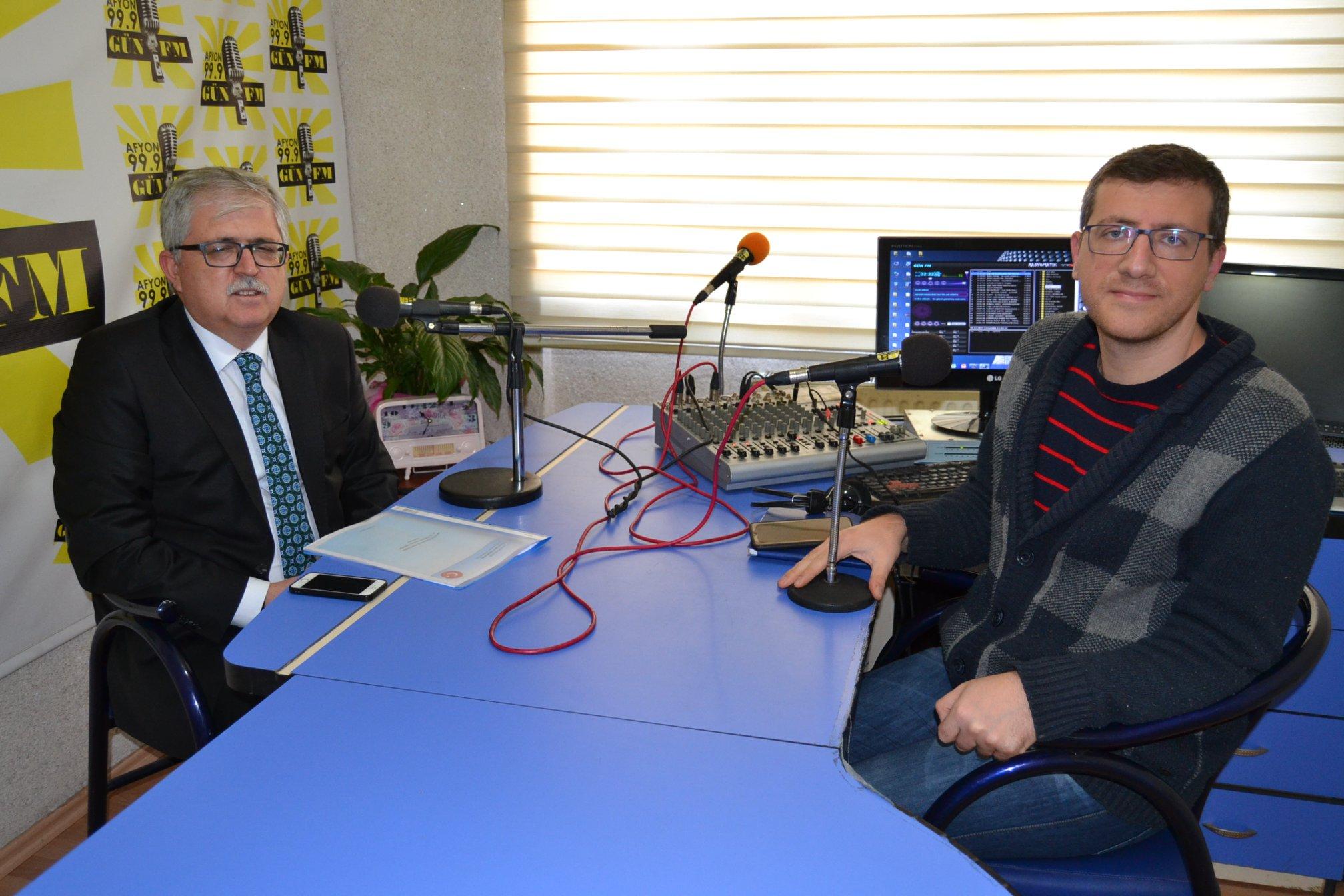 Kabukçu çalışmaları Gün FM'de değerlendirdi