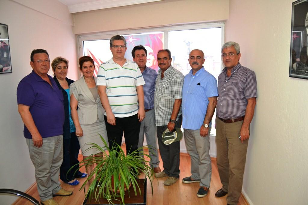 CHP Merkez İlçe Yönetimi radyomuzu ziyaret etti