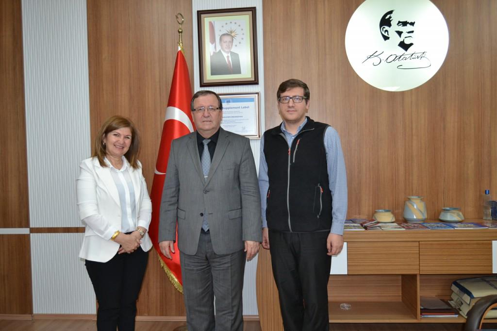 Gün FM yetkilileri Solak'ı ziyaret etti