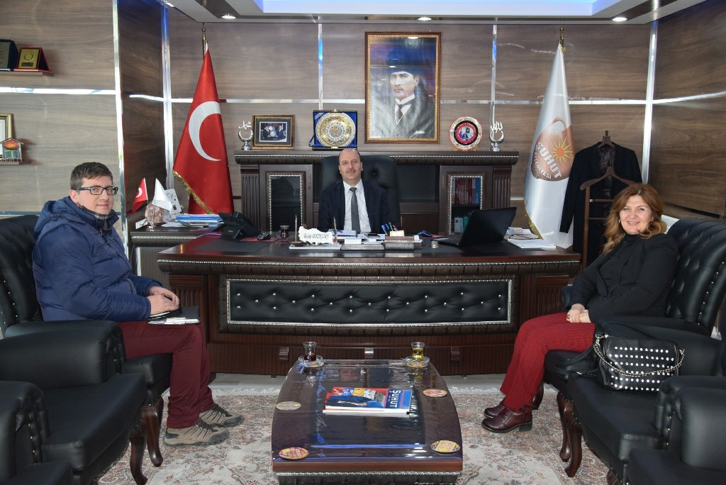 Gün FM Yetkililerinden Başkan Bozkurt'a Ziyaret