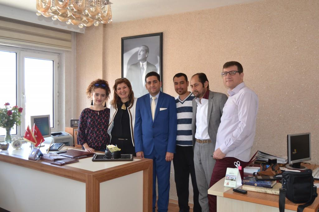 AFDİDER Gençlik Kolları'ndan Gün FM'e ziyaret