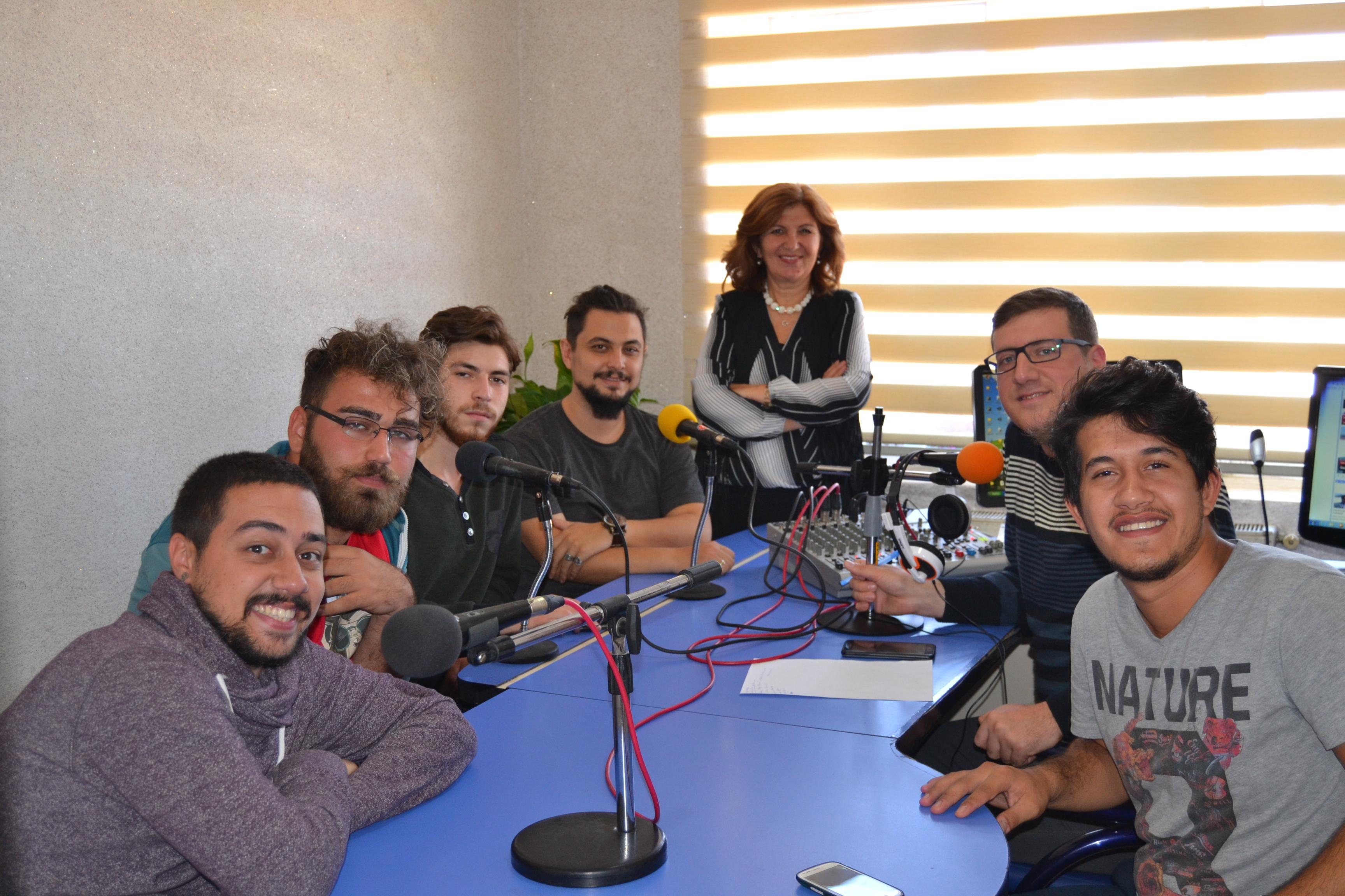 Garahisarlıyın ekibi Gün FM'de