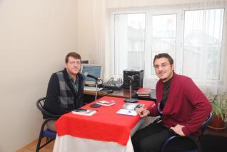 Gazeteci Arısoy'un ikinci kitabı Mavi Nefte yayınlandı
