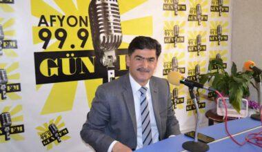 Afyonkarahisar Kültür ve Turizm Müdürü Mehmet Tanır Gün FM'de…