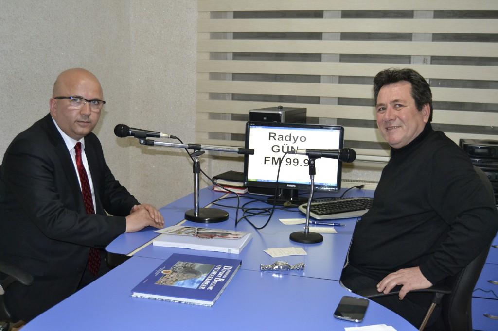 Başkan Çoban Gün FM'de